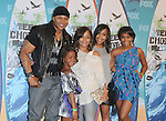LL Cool J & Family at Fox Teen Choice 2010 Awards held at he Universal Ampitheatre in Universal City, California on August 08,2010                                                                                      Copyright 2010 © DVS / RockinExposures
