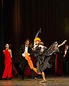 Edinburgh, UK. 29.08.2012. Mariinsky Ballet presents CINDERELLA as part of the Edinburgh International Festival.Picture shows: Ekaterina Kondaurova (Stepmother). Photo credit: Jane Hobson.