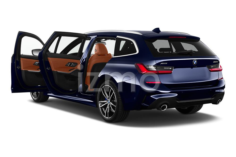 Car images of 2020 BMW 3-Series M-Sport 5 Door Wagon Doors
