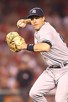 05/29/12 Anaheim, CA: New York Yankees first baseman Mark Teixeira #25 during an MLB game played between the New York Yankees and the Los Angeles Angels at Angel Stadium. The Angels defeated the Yankees 5-1.