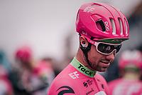 Tom Van Asbroeck (BEL/EducationFirst-Drapac) signing autographs pre-race<br /> <br /> 61th E3 Harelbeke (1.UWT)<br /> Harelbeke - Harelbeke (206km)