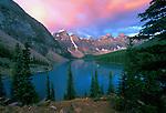 Moraine Lake Dawn, Banff NP, Alberta, Canada