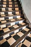 Checkered stairway
