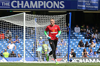 Sunderland goalkeeper, Jordan Pickford during Chelsea vs Sunderland AFC, Premier League Football at Stamford Bridge on 21st May 2017