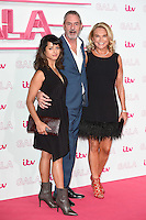 LONDON, UK. November 24, 2016: Amrita Acharia, Neil Morrisey &amp; Amanda Redman at the 2016 ITV Gala at the London Palladium Theatre, London.<br /> Picture: Steve Vas/Featureflash/SilverHub 0208 004 5359/ 07711 972644 Editors@silverhubmedia.com