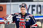 S&ouml;dert&auml;lje 2013-12-12 Ishockey Hockeyallsvenskan S&ouml;dert&auml;lje SK - Mora IK :  <br /> S&ouml;dert&auml;lje m&aring;lvakt 43 Sebastian Idoff <br /> (Foto: Kenta J&ouml;nsson) Nyckelord:  portr&auml;tt portrait