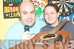 MUSIC MADNESS: Gareth Harteveld and Louise Lyons, at the KDYS Listowel asking you to step up to the microphone   Copyright Kerry's Eye 2008