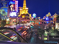 Las Vegas Nevada, Strip, Hotel Casino Resorts at night Hospitality