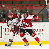 Patrick McNally (Harvard - 8), Travis Fulton (RPI - 18) - The Harvard University Crimson defeated the visiting Rensselaer Polytechnic Institute Engineers 4-0 (EN) on Saturday, November 10, 2012, at Bright Hockey Center in Boston, Massachusetts.