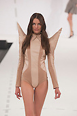 Graduate Fashion Week 2012, collection by Jessica Wood of University of Salford Manchester