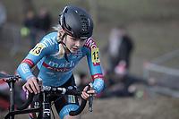 Laura Verdonschot (BEL/Marlux Bingoal)<br /> <br /> Women's Race<br /> Belgian National Cyclocross Championships 2018 / Koksijde