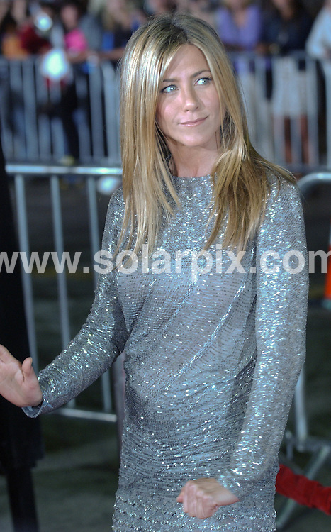 "**ALL ROUND PICTURES FROM SOLARPIX.COM**.**SYNDICATION RIGHTS FOR UK, AUSTRALIA, DENMARK, PORTUGAL, S. AFRICA, SPAIN & DUBAI (U.A.E) ONLY**.Jennifer Aniston arrives for the world premiere of ""Love Happens"". Held at Mann's Village Theater, Westwood, CA. USA. 15 September 2009..This pic: Jennifer Aniston..JOB REF: 9947 PHZ (Ortega)   DATE: 15_09_2009.**MUST CREDIT SOLARPIX.COM OR DOUBLE FEE WILL BE CHARGED**.**MUST NOTIFY SOLARPIX OF ONLINE USAGE**.**CALL US ON: +34 952 811 768 or LOW RATE FROM UK 0844 617 7637**"