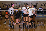 2015.10.09 - NCAA VB - Miami vs Wake Forest