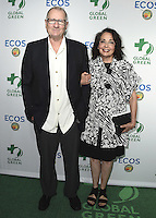 LOS ANGELES, CA - SEPTEMBER 29:  Ed O'Neill and Catherien Rusoff at the Global Green 2016 Environmental Awards at the Alexandria Ballroom on September 29, 2016 in Los Angeles, California. Credit: mpi991/MediaPunch