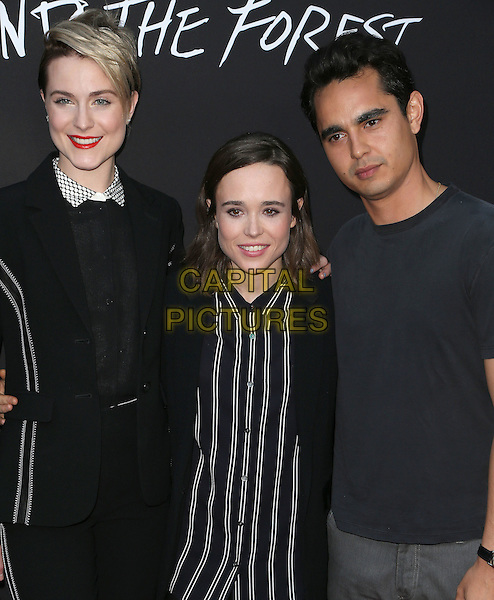 22 June 2016 - Hollywood, California - Ellen Page, Evan Rachel Wood, Max Minghella. &quot;Into The Forest&quot; Los Angeles Premiere held at ArcLight Hollywood.  <br /> CAP/ADM/FS<br /> &copy;FS/ADM/Capital Pictures