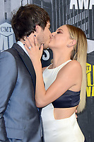 02 December 2017 - Kelsea Ballerini walked down the aisle and wed her fiancé, Morgan Evans, in a ceremony at the Esperanza Resort in Cabo San Lucas, Mexico. The two started dating in March 2016 and got engaged on Christmas 2016. File Photo: 07 June 2017 - Nashville, Tennessee -  Kelsea Ballerini, Morgan Evans. 2017 CMT Music Awards held at Music City Center. Photo Credit: Tonya Wise/AdMedia