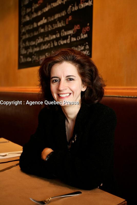 March 2005, Montreal (Qc) CANADA<br /> EXCLUSIVE PHOTO of Lorraine Desmarais, Jazz Pianist<br /> Photo : (c) 2003 by Pierre Roussel/ Images Distribution