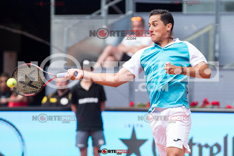 Nicolas Almagro during the Mutua Madrid Open Tennis 2017 at Caja Magica in Madrid, May 10, 2017. Spain. /NortePhoto.com **NortePhoto.com