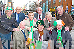 Killarney Mayor Donal O'Grady and the St Patrick's Day parade committee who are looking for support from Killarney people to make this years parade a success front row l-r: Noel Grimes, Donal O'Grady, Neilus O'Connor. Back row: Pat Sullivan, John Leen, Martin O'Grady, Michael O'Leary, Sean Grady and John Linehan