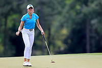 Sierra Brooks (USA) during the final  round at the Augusta National Womans Amateur 2019, Augusta National, Augusta, Georgia, USA. 06/04/2019.<br /> Picture Fran Caffrey / Golffile.ie<br /> <br /> All photo usage must carry mandatory copyright credit (&copy; Golffile | Fran Caffrey)