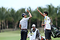 Ryo Ishikawa (JPN),.MARCH, 2013 - Golf :.Ryo Ishikawa of Japan celebrates with his caddie on 8th hole (183 yard) after the hole in one during the third round of the Puerto Rico Open PGA golf tournament in Rio Grande, Puerto Rico.  (Photo by Yasuhiro JJ Tanabe/AFLO)