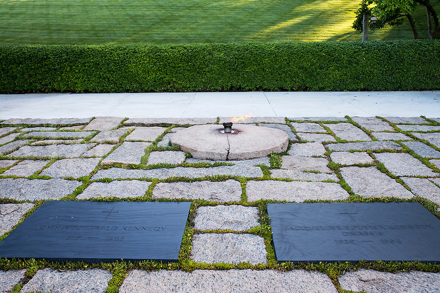 John F Kennedy Grave, Arlington Cemetery, Virginia, USA