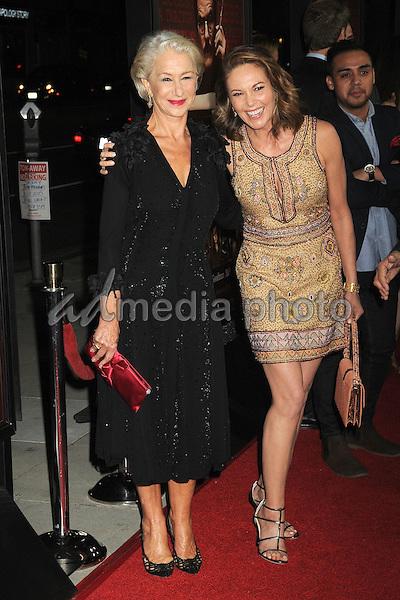 "27 October 2015 - Beverly Hills, California - Helen Mirren, Diane Lane. ""Trumbo"" Los Angeles Premiere held at the AMPAS Samuel Goldwyn Theater. Photo Credit: Byron Purvis/AdMedia"