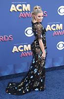15 April 2018 - Las Vegas, NV -  Lauren Alaina.  2018 ACM Awards arrivals at MGM Grand Garden Arena. <br /> CAP/ADM/MJT<br /> &copy; MJT/ADM/Capital Pictures