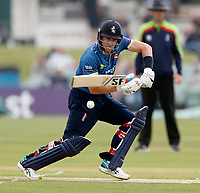 Joe Denly bats for Kent during the Royal London One Day Cup game between Kent and Glamorgan at the St Lawrence Ground, Canterbury, on May 25, 2018