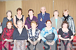 GALA DINNER: Enjoying a great time at the Ballinorig residents association Gala dinner at the Manor West hotel on Friday seated l-r: Mary Kelly, Marie Fealy, Kitty Morrissy, Kay Long and Teresa Lehane. Back l-r: Nettie Dowling, Irene O'Donnell, Kathleen McMullan, Michael Long, Betty Moriarty and Bridget Lawlor..