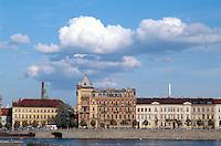 Tschechien, Prag, Smetana-Kai, Unesco-Weltkulturerbe