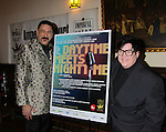 ICNY Gary Cosgrove poses with One Life To Live Lea Delaria performs at ICNY (Imperial Court of New York): Daytime Meets Nighttime Cabaret benefitting LifeBeat: Music Fights HIV and Jan Hus Neighborhood Church, two organizations giving back to the community at November 4, 2011 at the Jan Hus Playhouse Theatre, New York City, New York. (Photo by Sue Coflin/Max Photos)
