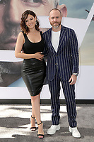 "LOS ANGELES - JUL 13:  Angelica Celaya, Erik Hayser at the ""Fast & Furious Presents: Hobbs & Shaw"" Premiere at the Dolby Theater on July 13, 2019 in Los Angeles, CA"