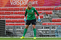 Bridgeview, IL - Saturday June 17, 2017: Alyssa Naeher during a regular season National Women's Soccer League (NWSL) match between the Chicago Red Stars and the Washington Spirit at Toyota Park. The match ended in a 1-1 tie.