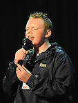 Michael Tuohy St Mary's Diocessan performing in the School Stars auditions in the TLT Drogheda. Photo: Colin Bell/pressphotos.ie