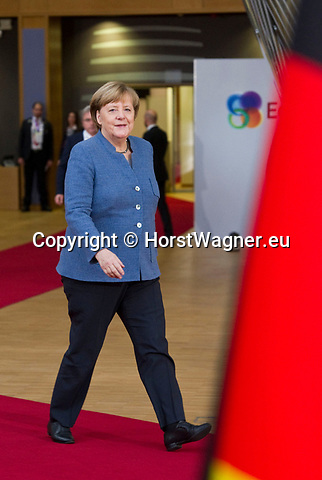 Brussels, Belgium -- November 24, 2017 -- Eastern Partnership Summit, meeting of Heads of State / Government (EU and six Eastern partner countries) at the Europa building - seat of the European Council and Council of the European Union; here, Angela MERKEL, Federal Chancellor of Germany -- Photo: © HorstWagner.eu