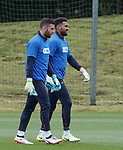 Liam Kelly and Wes Foderingham