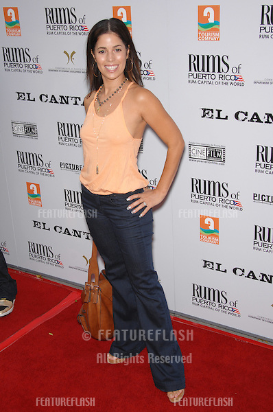 "Ana Ortiz at the Los Angeles premiere of ""El Cantante"" at the Directors Guild of America..August 1, 2007  Los Angeles, CA.Picture: Paul Smith / Featureflash"