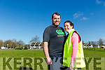 husband and Wife Colm Griffin and Catriona Griffin   are running their first marathon This year
