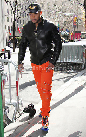 NEW YORK, NY - APRIL 14: Flo Rida seen in New York City on April 14, 2017. Credit: RW/MediaPunch