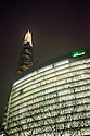London, UK. 17.03.2015. View of the Shard from the street, London Bridge, Southwark. Photograph © Jane Hobson.