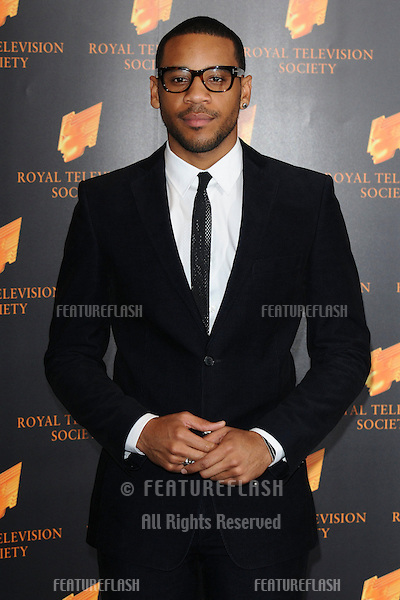 Reggie Yates arriving for the RTS Awards, at the Grosvenor House Hotel, London. 15/03/2011  Picture By: Steve Vas / Featureflash