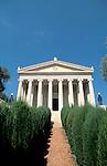 Israel, Haifa. The Bahai International Archives building on Mount Carmel&#xA;&#xA;&#xA;<br />