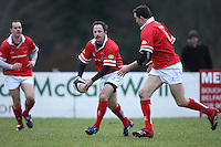 David Humphreys in action during the charity match between the Ulster 1999 XV and a Wooden Spoon Select XV at Shaw's Bridge Belfast.  Mandatory Credit - Photo : John Dickson