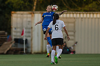 Seattle, WA - April 15th, 2017: Jess Fishlock during a regular season National Women's Soccer League (NWSL) match between the Seattle Reign FC and Sky Blue FC at Memorial Stadium.