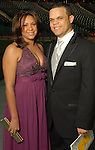 Wandy Rodriguez and his wife Luz at the Astros Wives Gala at Minute Maid Park Thursday Aug. 06, 2009.(Dave Rossman/For the Chronicle)