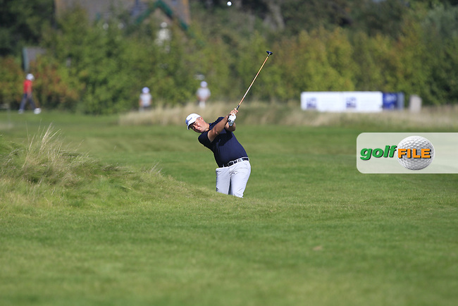 Mark Foster (ENG) on the 6th fairway during Round 1 of the 2016 KLM Open at the Dutch Golf Club at Spijk in The Netherlands on Thursday 08/09/16.<br /> Picture: Thos Caffrey | Golffile