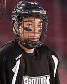 Truman Reed (PC - 23) - The Providence College Friars practiced on the rink at Fenway Park on Friday, January 6, 2017.