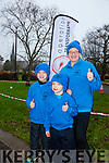 Enjoying the Parkrun on Saturday for  RTE  Operation Transformation were Aaron Horrigan, Kevin Horrigan and Moira Horrigan