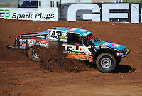 Apr 16, 2011; Surprise, AZ USA; LOORRS driver Curt Leduc (43) during round 3 at Speedworld Off Road Park. Mandatory Credit: Mark J. Rebilas-.